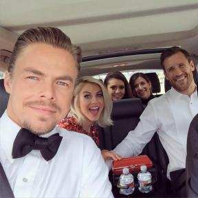 """On the way to the EMMYS"" - September 12, 2015 Courtesy derekhough IG"